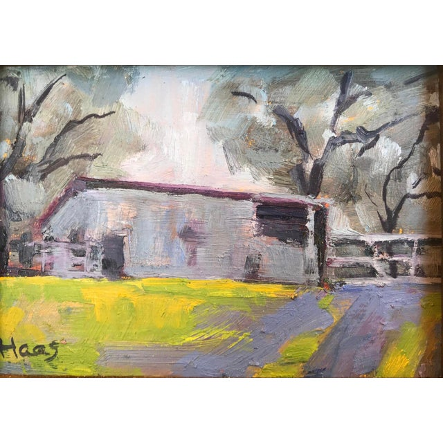 """""""Amador County Barn"""" Oil Painting For Sale In San Francisco - Image 6 of 7"""