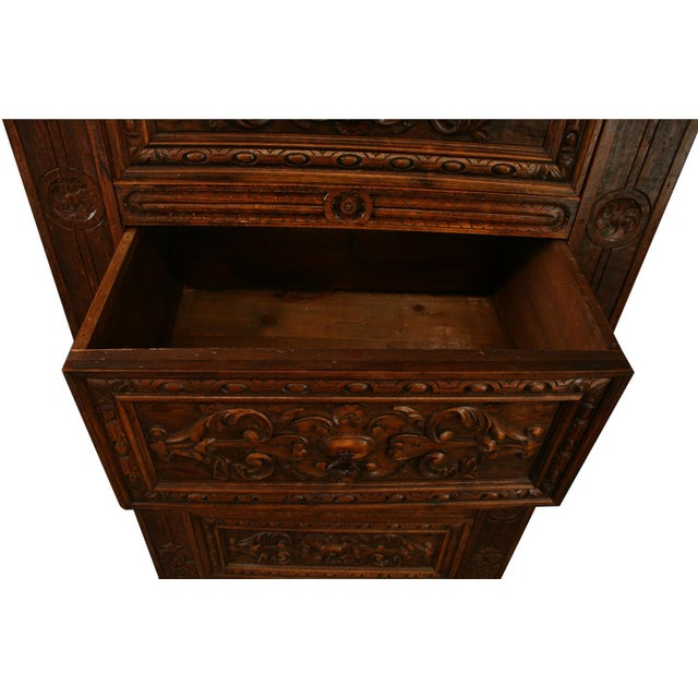 Antique French Renaissance-Style Chest of Drawers - Image 7 of 8