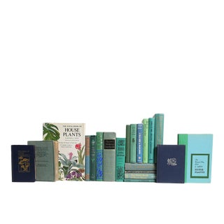 Green Gardening Themed Decorative Books - Set of 20