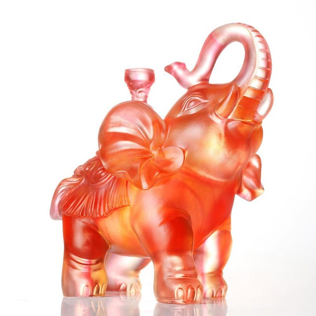 Limited Edition: 3,990 (Worldwide), Small US allocation The elephant ambles forward, propelled by tension and its large...