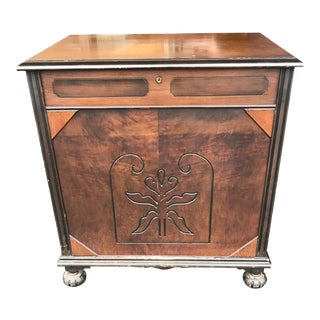 Rare Vintage Tall Cedar / Cedarette Chest For Sale