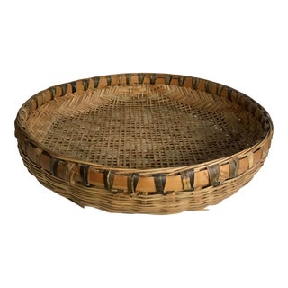 Vintage Chinese Fishing Drying Basket Tray For Sale