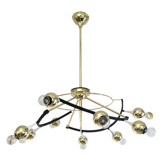 Orbital Stilnovo Chandelier, Italy, 1960s For Sale