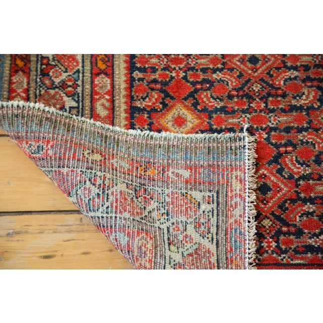 "Distressed Antique Malayer Rug - 4'1"" X 6' - Image 7 of 8"