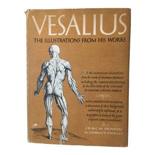 1950 Vesalius Illustrations From His Works Book For Sale
