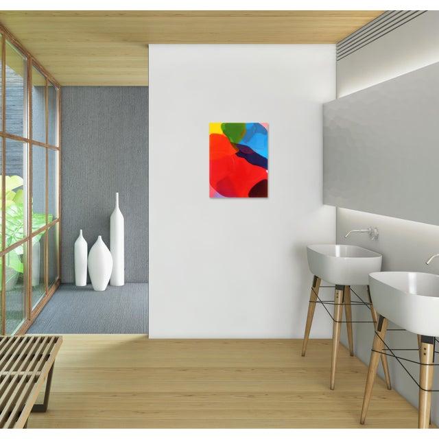"Black ""Tailwind 1"" Original Artwork by Ricky Hunt For Sale - Image 8 of 10"