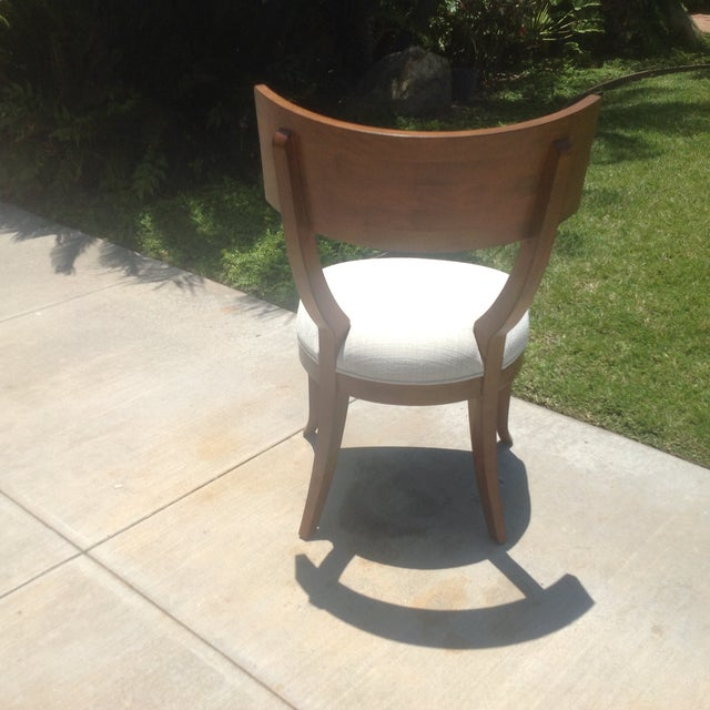 Modern Mid Century Style Klismos Dining Chair - Image 6 of 7