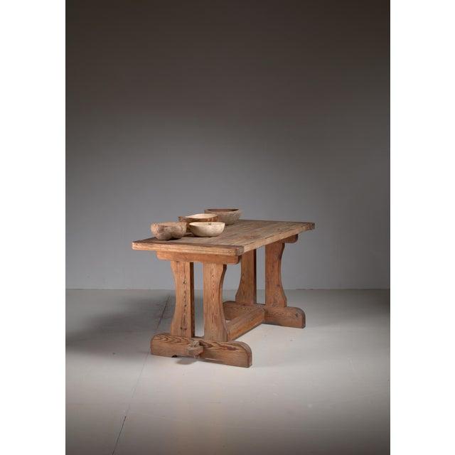 Nordiska Kompaniet David Rosen 'Berga' Table for Nordiska, Sweden, 1940s For Sale - Image 4 of 5