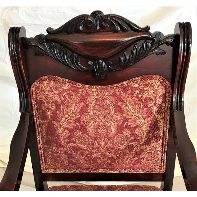 Empire Revival His & Hers Chairs - a Pair - Image 4 of 11