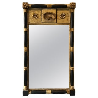 1870s Federal Shell Mirror For Sale