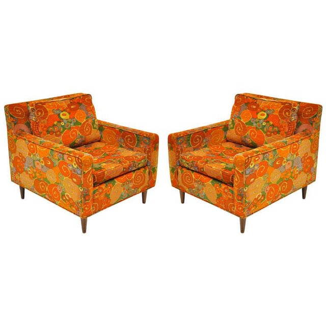 1950s Vintage Harvey Probber Chairs- a Pair For Sale - Image 11 of 11