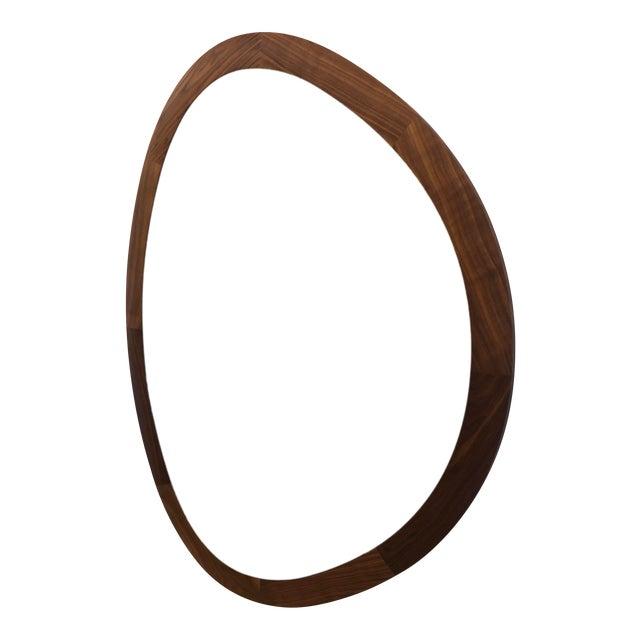 Porada Giolo Walnut Mirror For Sale