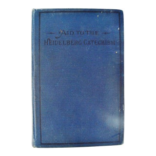 1904 Aid to Heidleberg Catechism Hardcover Book For Sale
