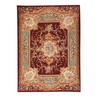 """Pasargad Aubusson Hand Woven Wool Rug - 10' 2"""" X 13'10"""""""