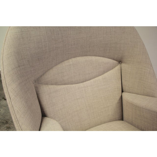 Gray Hans Wegner Oculus Lounge Chair For Sale - Image 8 of 12