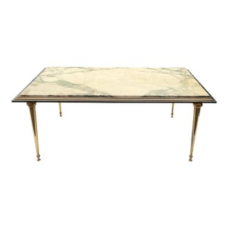 1960s Italian Maison Jansen Coffee Table For Sale