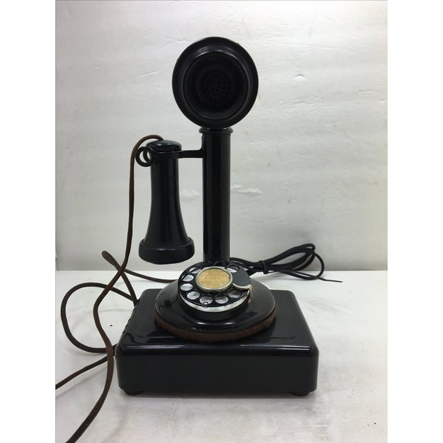 Western Electric Candlestick Rotary Dial Telephone - Image 5 of 11