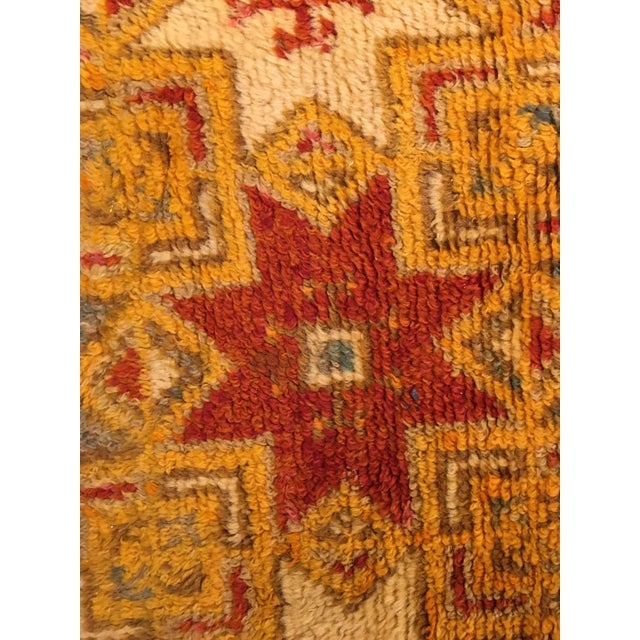 Gold Multi Moroccan rug For Sale In Charleston - Image 6 of 11