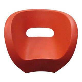 Modern Moroso Victoria & Albert Red Sculpture Chair For Sale