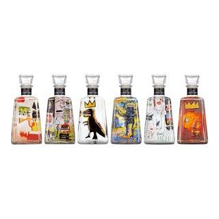 Jean Michel Basquiat 1800 Tequila Bottle Collection - Set of 6