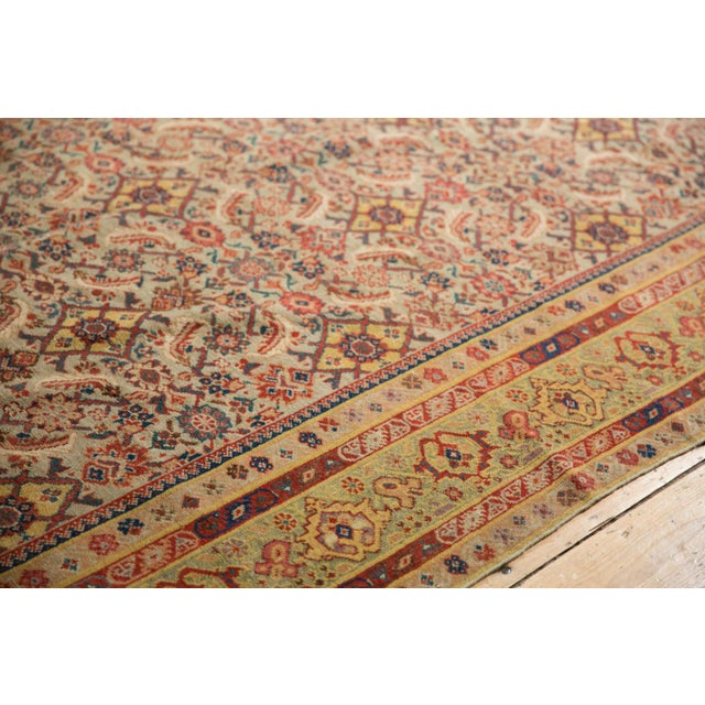 "Boho Chic Antique Distressed Malayer Rug Runner - 6'5"" X 12'8"" For Sale - Image 3 of 13"