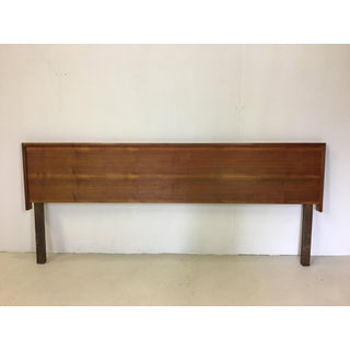 Kingsize Danish Modern Teak Headboard Preview