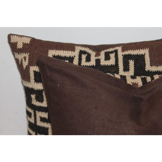 Pair of Indian Weaving Pillows - Image 3 of 6