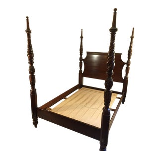 Lexington Palmer Collection Four Poster Bed For Sale
