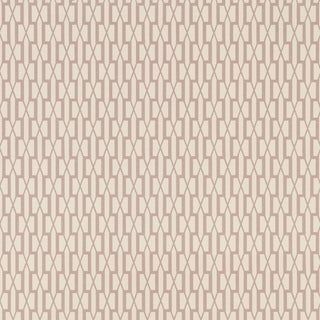 Sample - Schumacher X Veere Grenney Belvedere Wallpaper in Pink For Sale