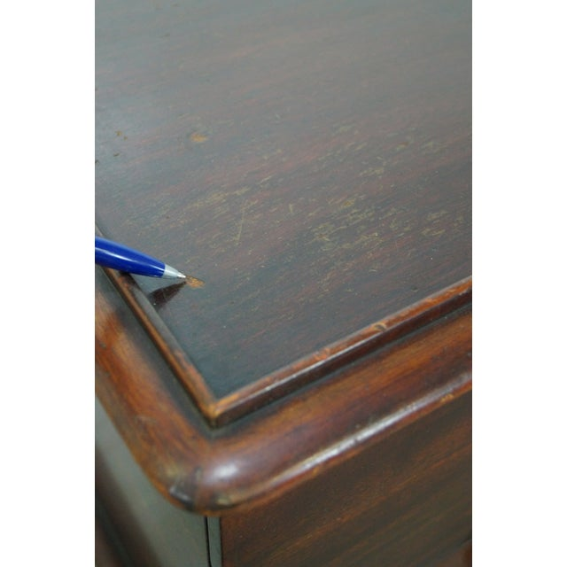 Paul Frankl Johnson Furniture Mahogany Station Wagon Nightstands- A Pair - Image 9 of 10
