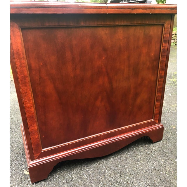Thomasville Mahogany Collection Flip Top Server For Sale - Image 12 of 13