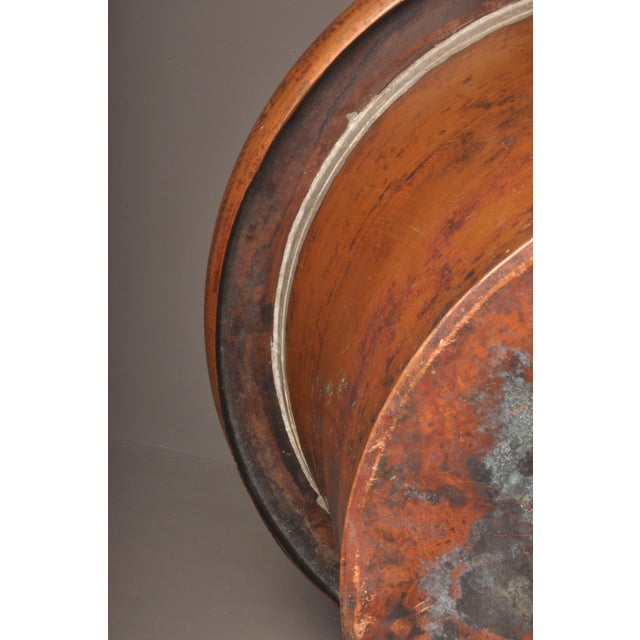 Large Copper Pot, Switzerland, 1940s For Sale - Image 9 of 10