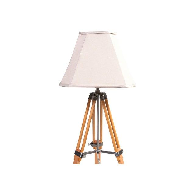 Vintage Adjustable Tri-Pod Lamp - Image 2 of 6
