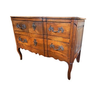 French Regence Walnut Commode For Sale