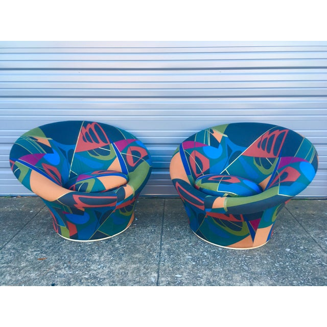 1960s Mid Century Modern Pierre Paulin for Artifort F560 Mushroom Chairs- A Pair For Sale - Image 5 of 5