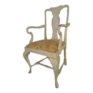 1960s Vintage Dutch Baroque Style Chair For Sale