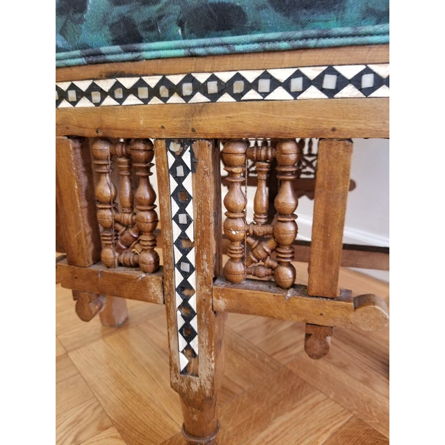 Early 20th Century Moroccan Side Chair For Sale - Image 9 of 12