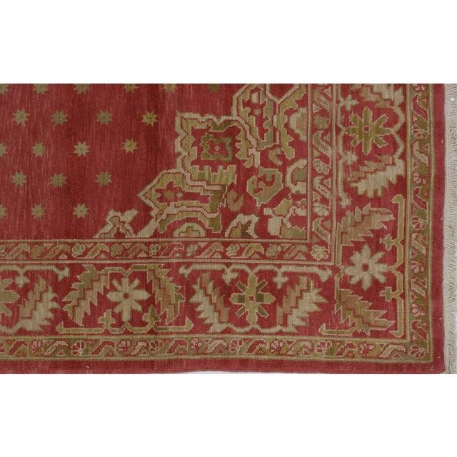 Soumak Design Hand Woven Wool Rug - 8' X 10' - Image 3 of 5