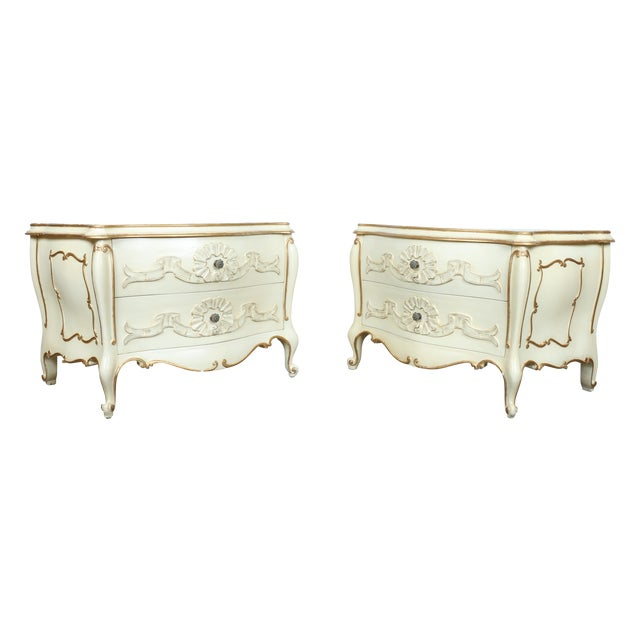 French Chest of Drawers - Pair - Image 1 of 11