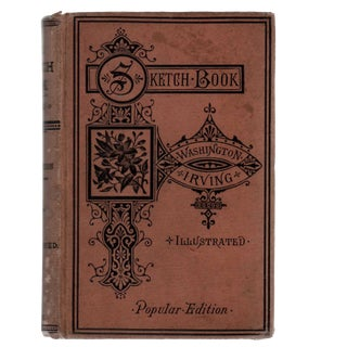 "1848 ""The Sketch-Book of Geoffrey Crayon, Gent."" Collectible Book For Sale"
