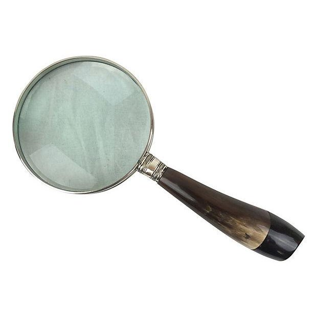 English Horn Magnifying Glass - Image 1 of 2