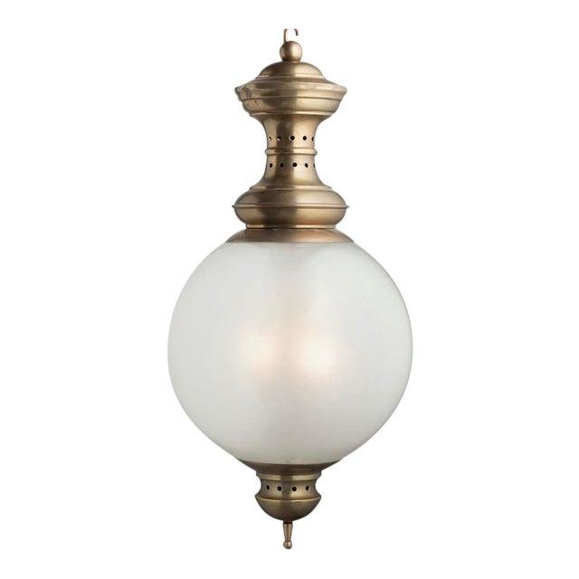 1950s Glass Lantern by Luigi Caccia Dominioni by Azucena For Sale