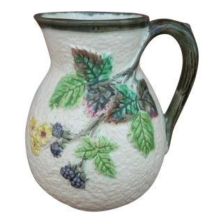 Clifton Decor Ceramic Pitcher For Sale