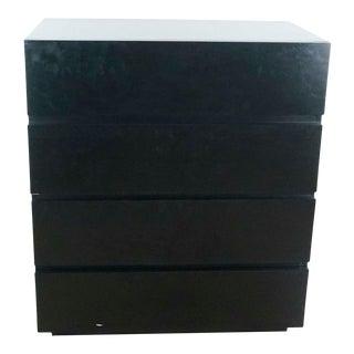 Crate & Barrel Four-Drawer Dresser For Sale