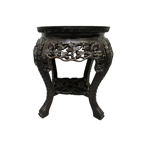 Carved Rosewood Table - Image 1 of 6