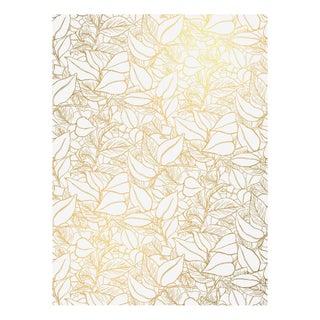 Vellum Garden Wall Wallpaper - Triple Roll For Sale
