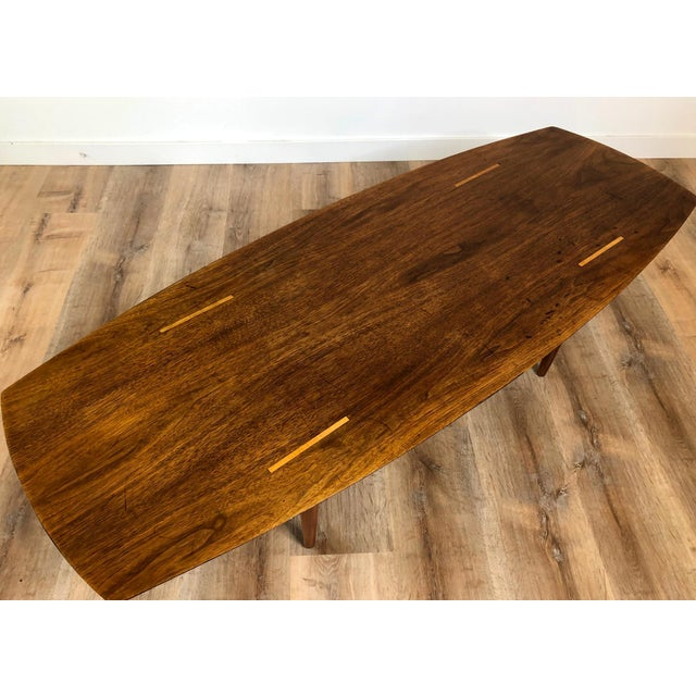 Mid-Century Modern Abel Sorensen for Knoll Surfboard Coffee Table For Sale - Image 3 of 13