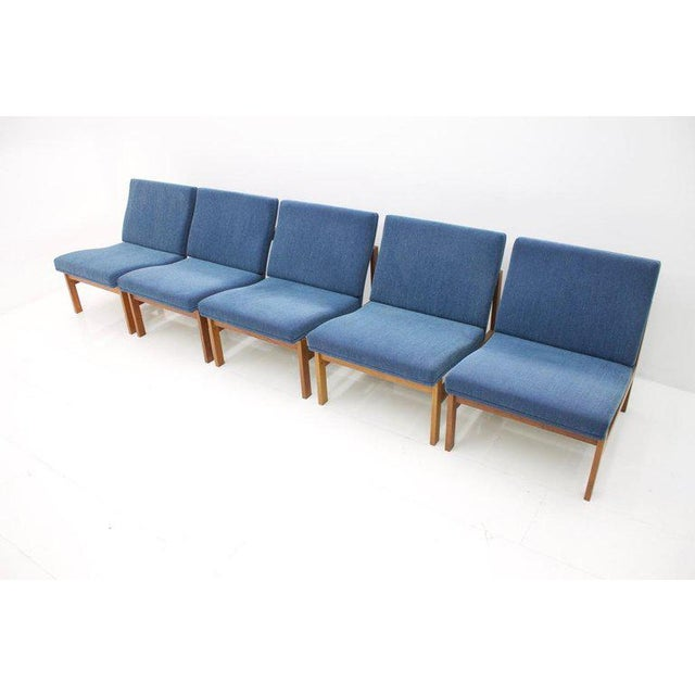 Torben Lind Modular Seating Group With Corner Table France & Son 1965 For Sale - Image 6 of 12