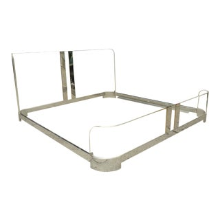 Charles Hollis Jones Lucite Bed For Sale
