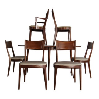 Heywood Wakefield Contessa Dining Table & Chairs - Set of 7